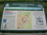 One of the Naseby information boards